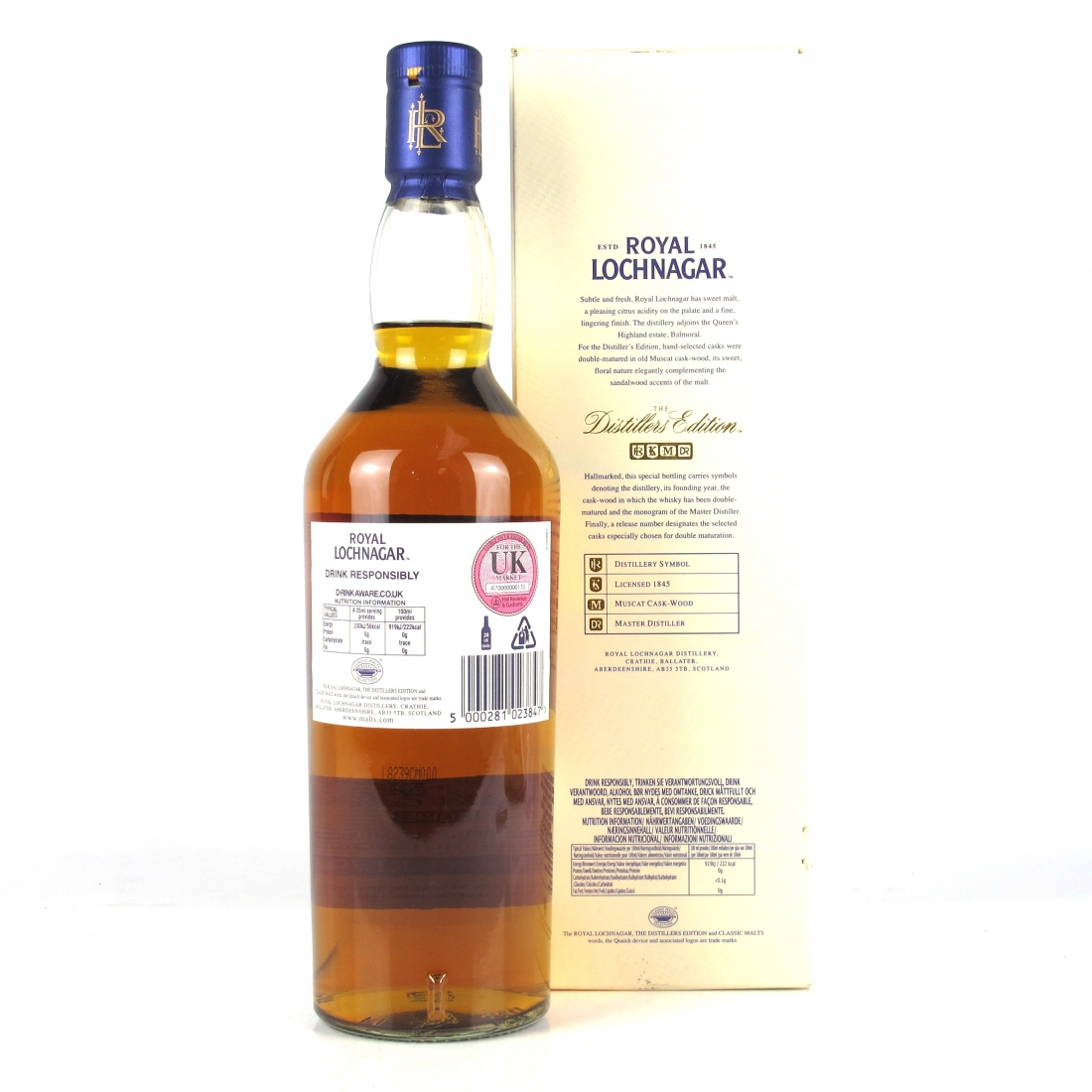 Royal Lochnagar 1996 Distillers Edition