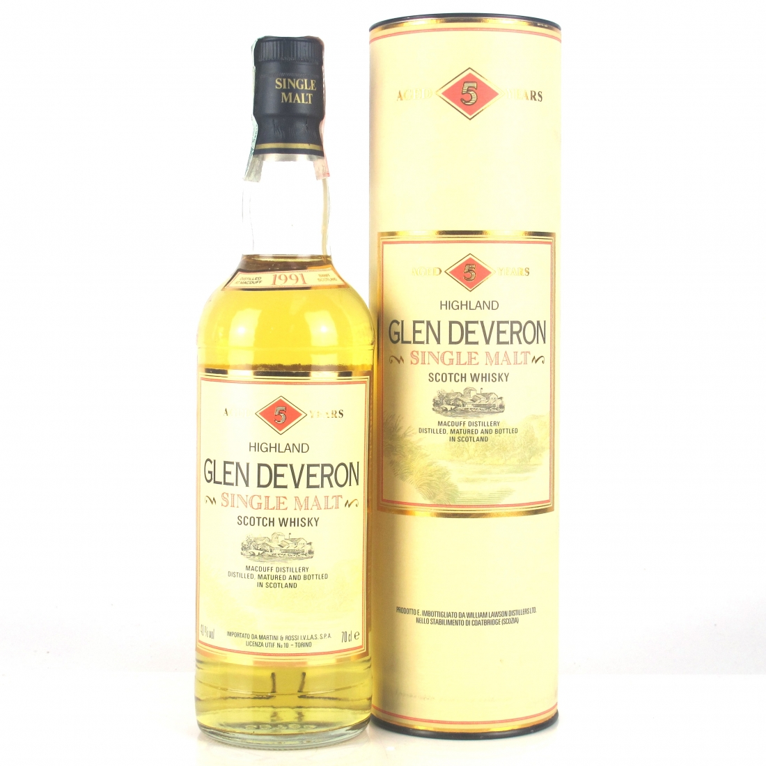 Glen Deveron 1991 5 Year Old / Macduff