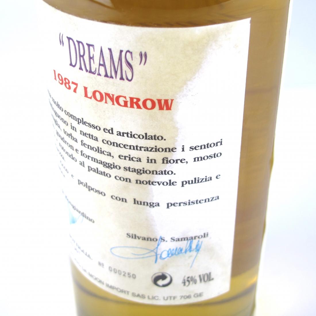 Longrow 1987 Samaroli 'Dreams'