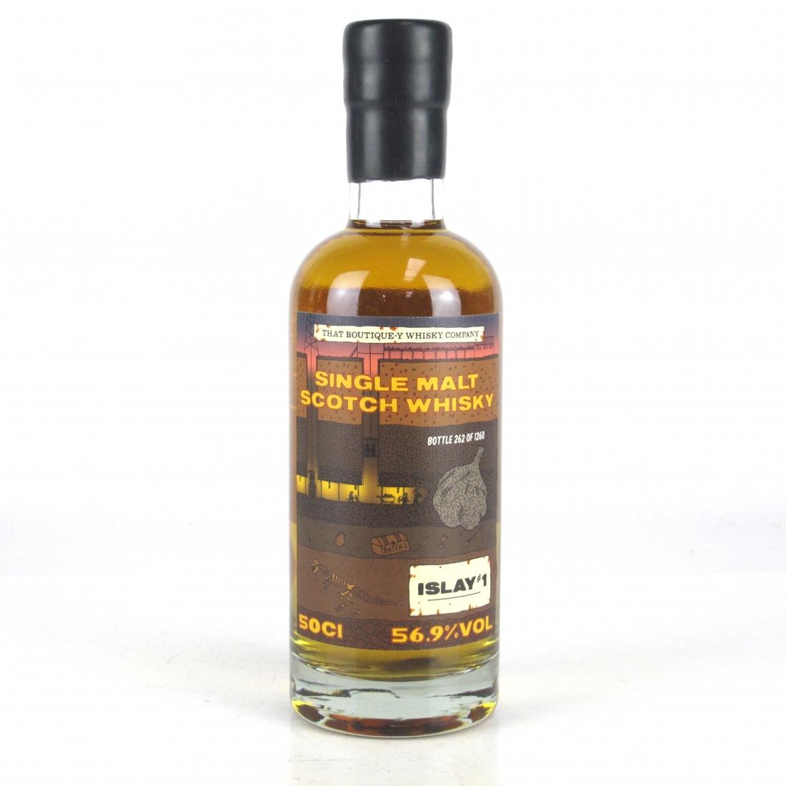 Caol Ila / Islay No.1 Single Malt That Boutique-y Whisky Company Batch #1