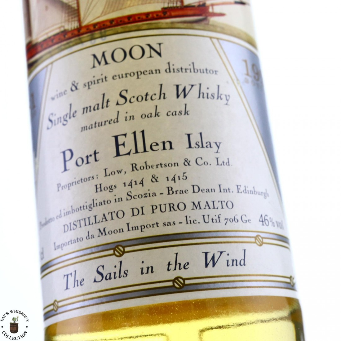 Port Ellen 1981 Moon Import / The Sails in the Wind