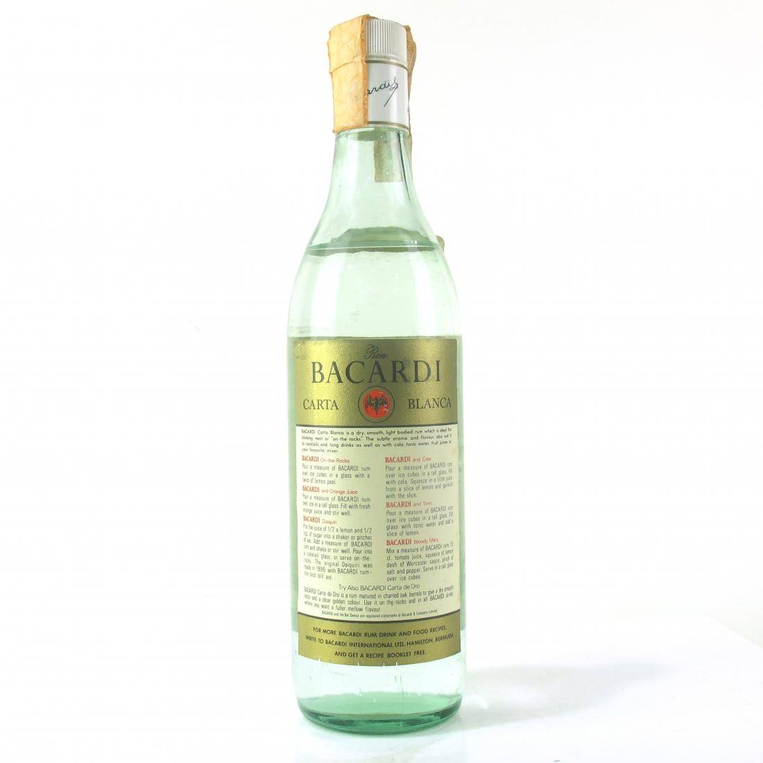 Bacardi Superior 1980s