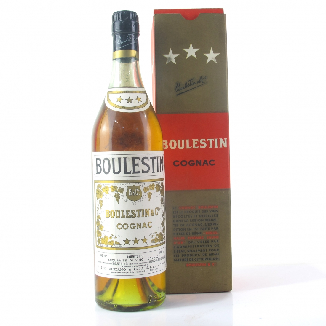 Boulestin 3-Star Cognac 1960s