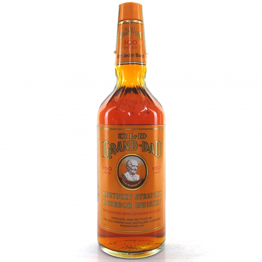 Old Grand-Dad 1968 Bonded 5 Year Old 100 Proof