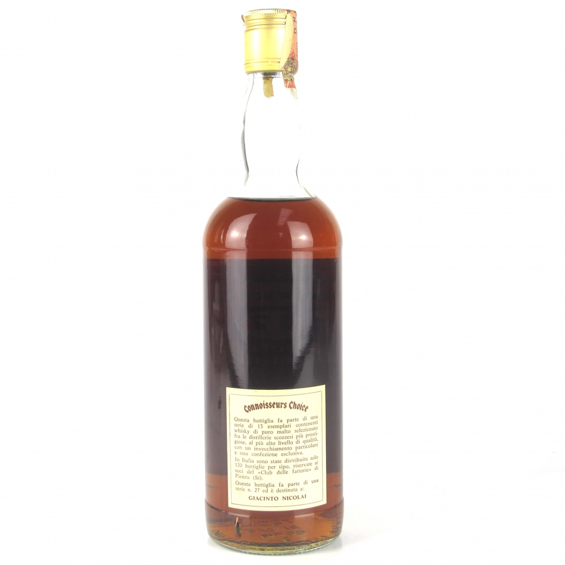 Lochside 1965 Gordon and MacPhail 17 Year Old / Pinerolo Import