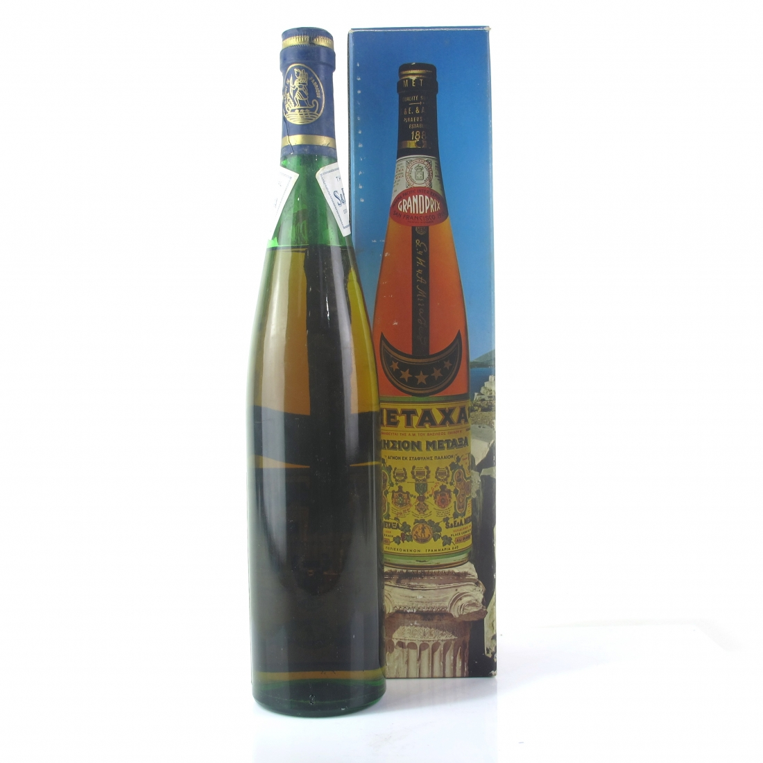 Metaxa 5-Star Greek Brandy 1960s