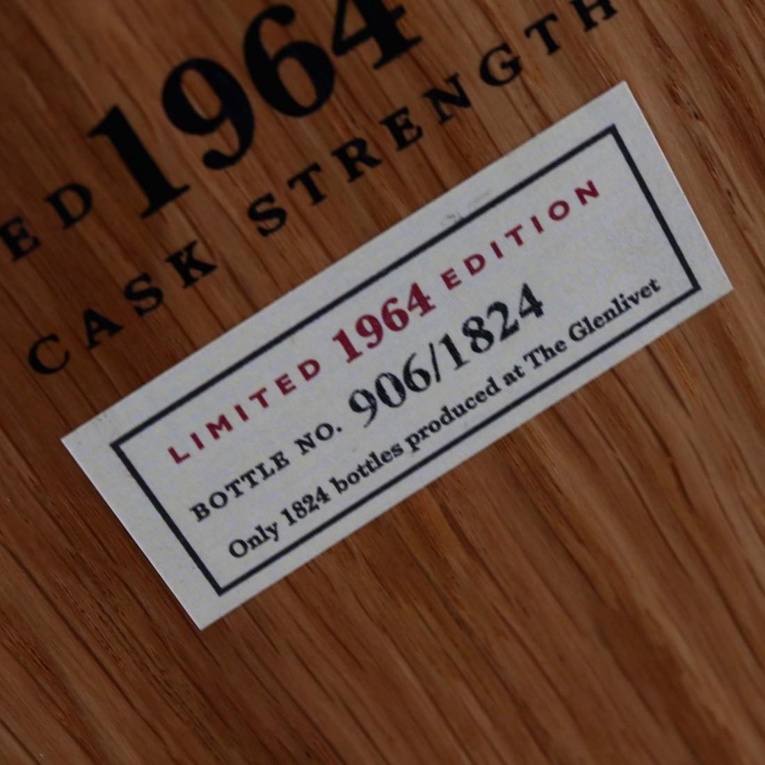 Glenlivet 1964 Cellar Collection Cask Strength