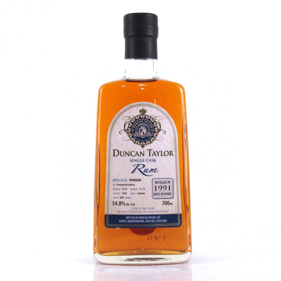 Trinidad 1991 Duncan Taylor 20 Year Old Single Cask Rum