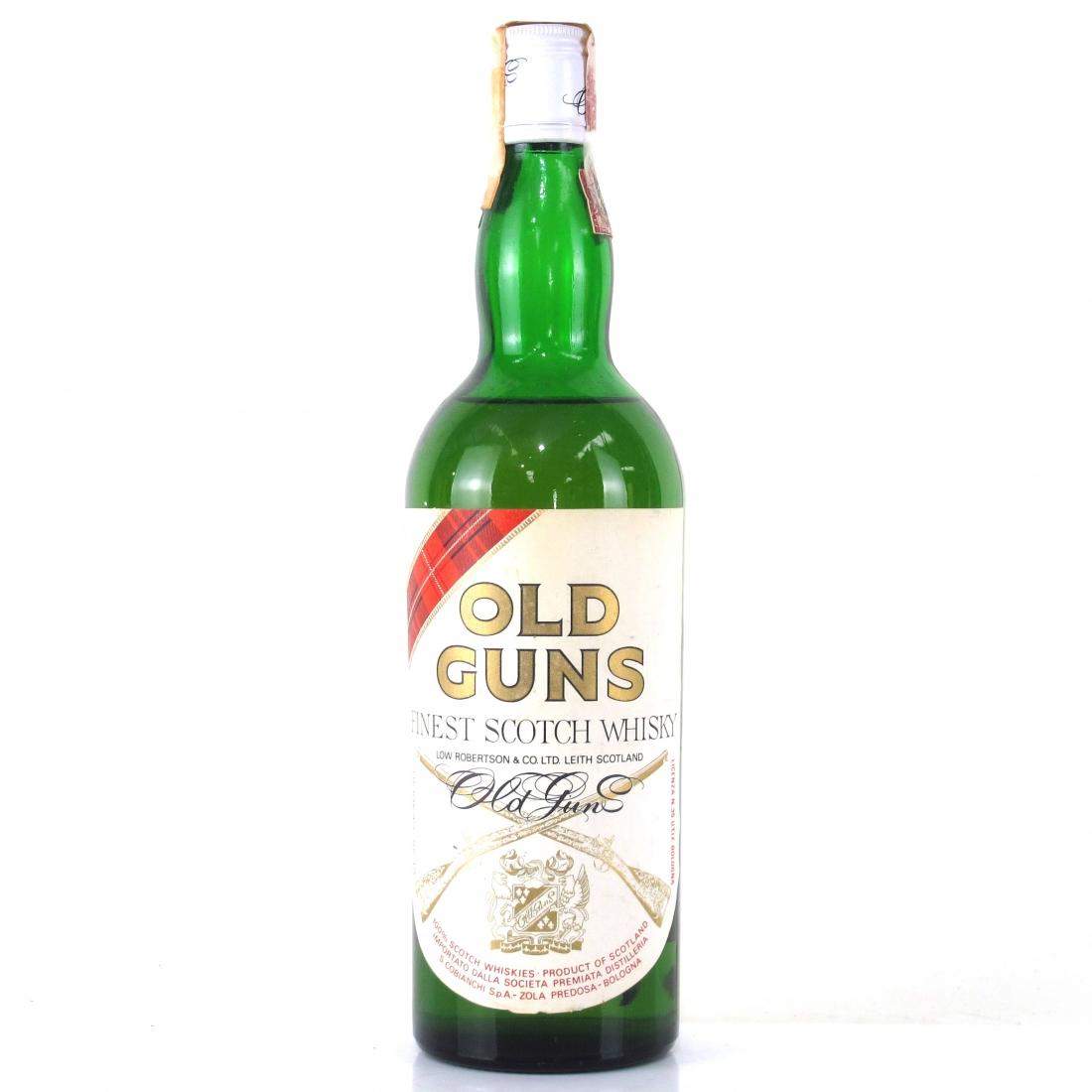 Old Guns Finest Scotch Whisky 1970s