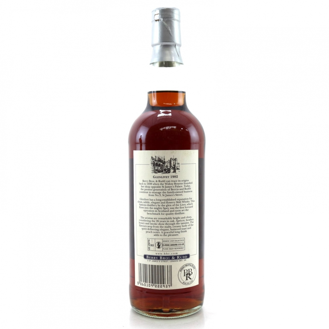 Glenlivet 1982 Berry Brothers and Rudd 26 Year Old / German Exclusive