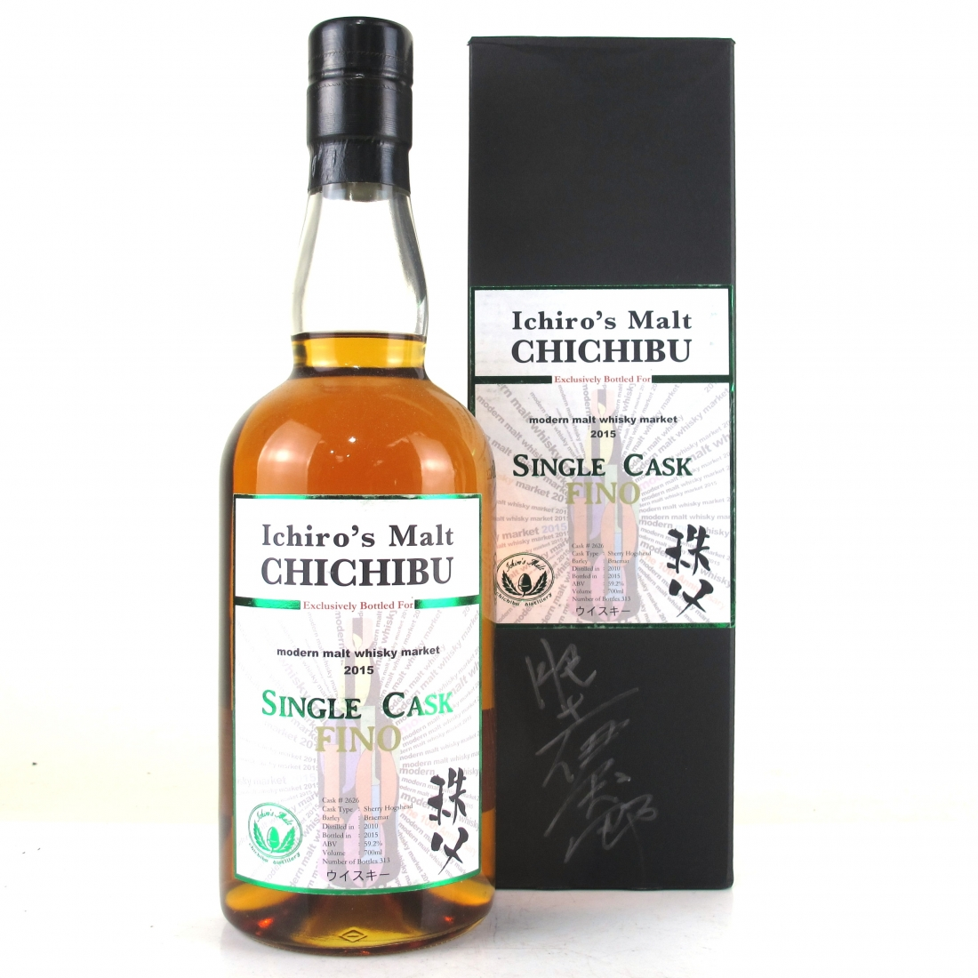 Chichibu 2010 Ichiro's Malt Single Cask #2626 / Modern Malt Whisky Market Signed