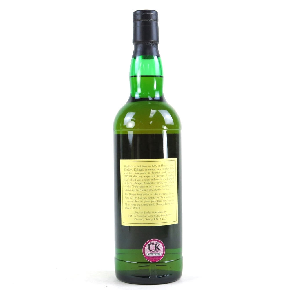 Highland Park 1990 The Dragon 19 Year Old #900003