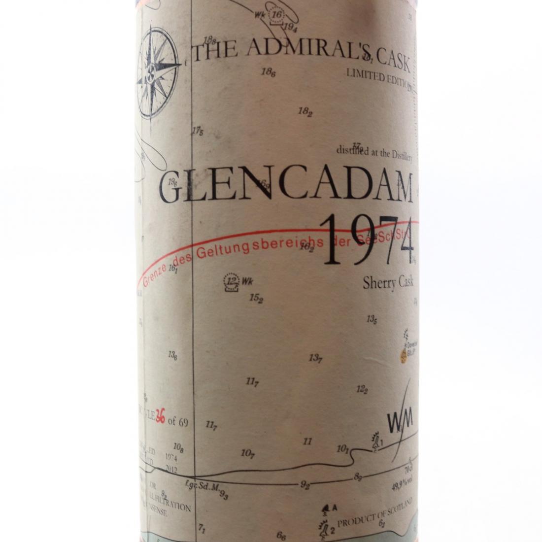 Glencadam 1974 Admiral's Cask