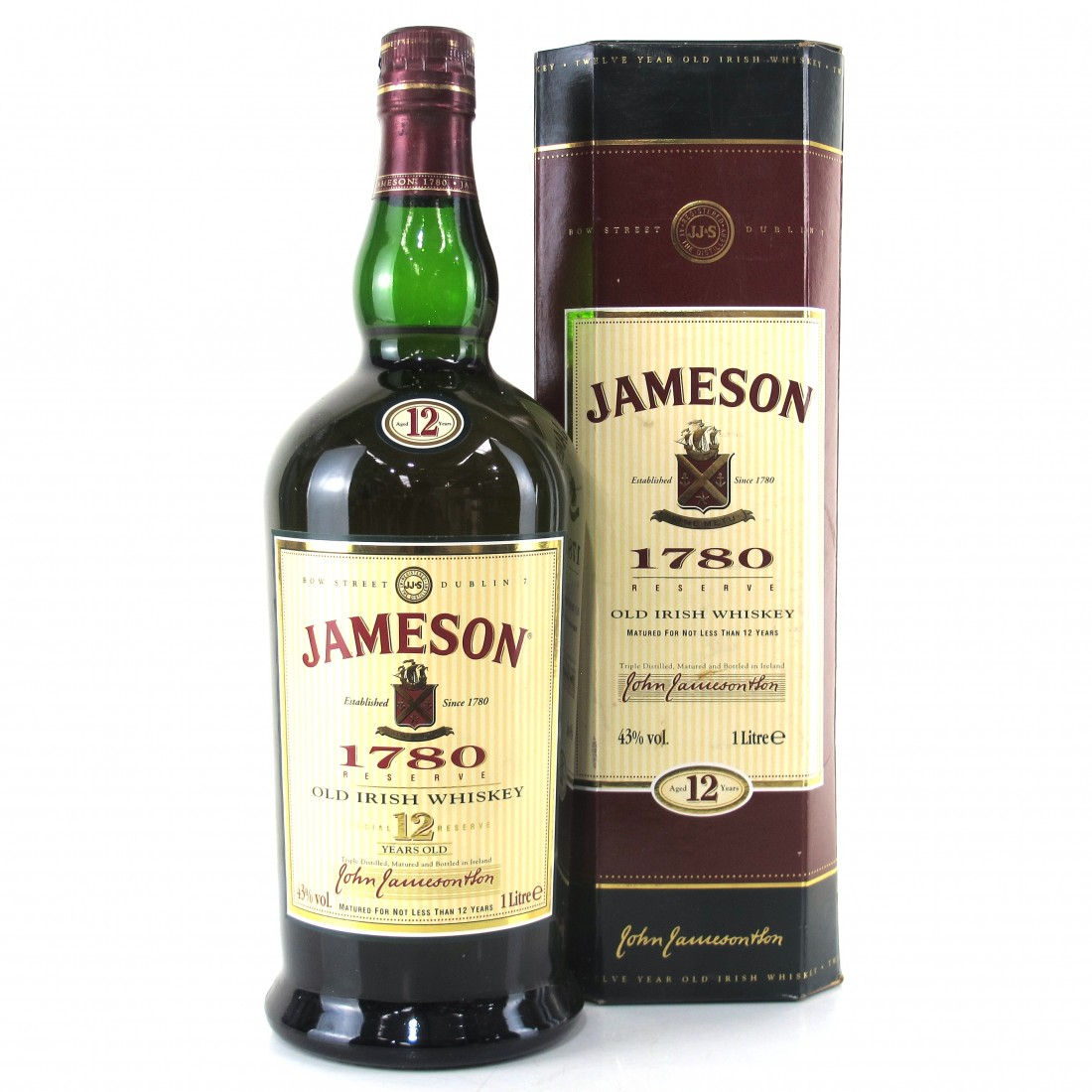 Jameson 1780 12 Year Old 1 Litre