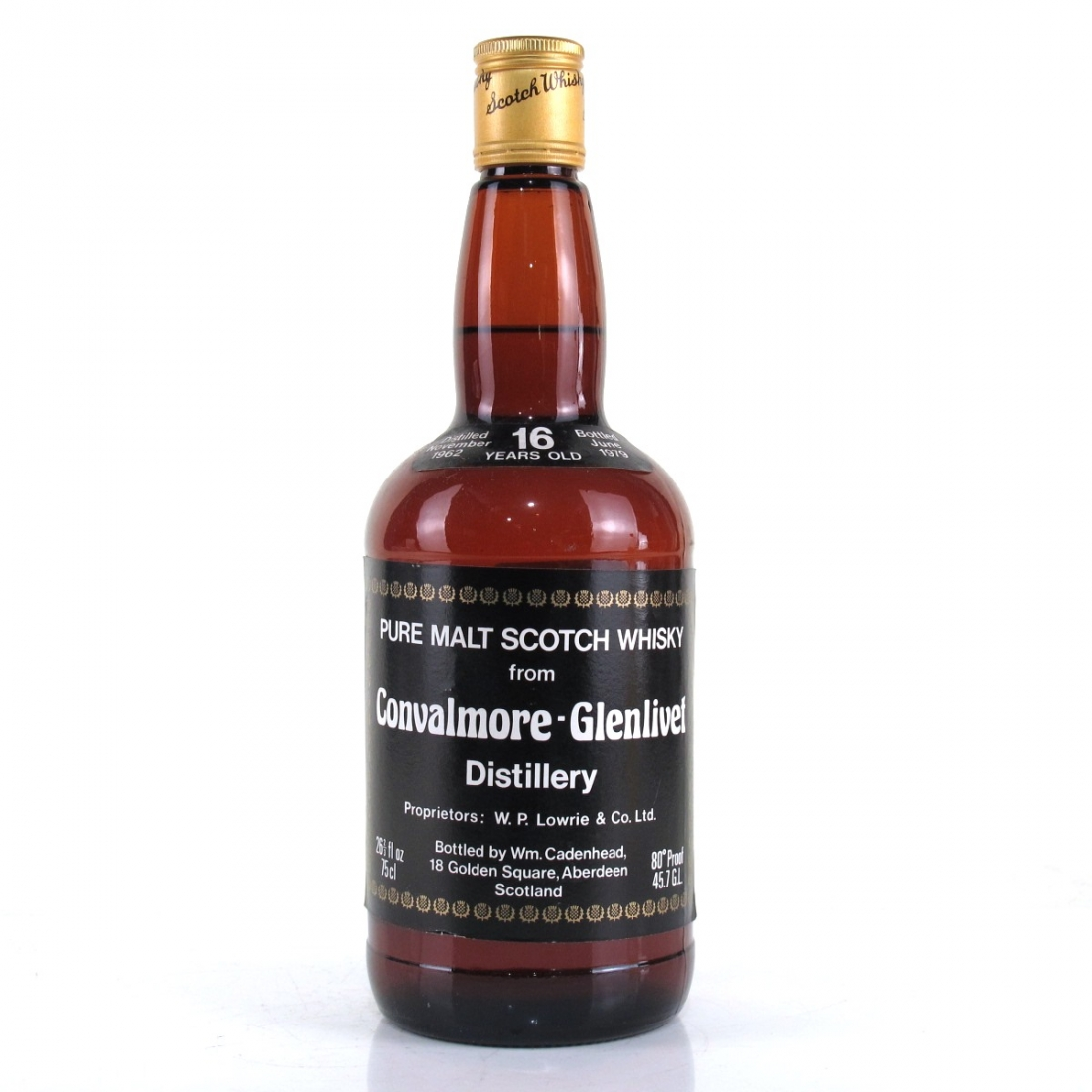 Convalmore-Glenlivet 1962 Cadenhead's 16 Year Old