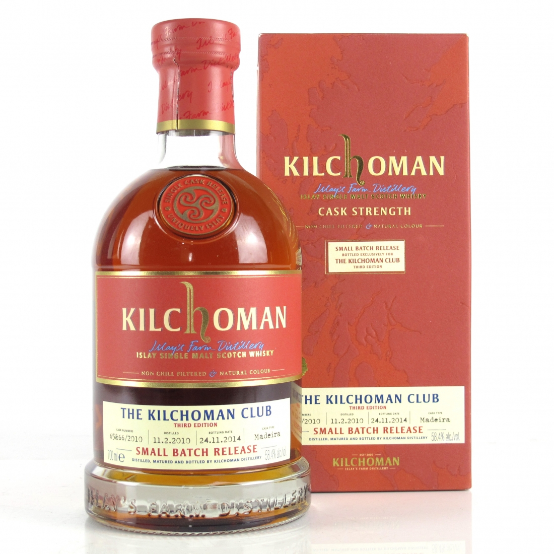 Kilchoman 2010 Small Batch / Kilchoman Club 3rd Edition