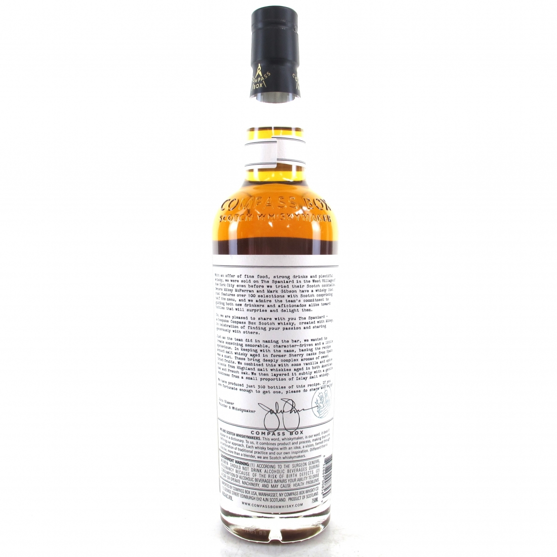 Compass Box The Spaniard 75cl / US Exclusive