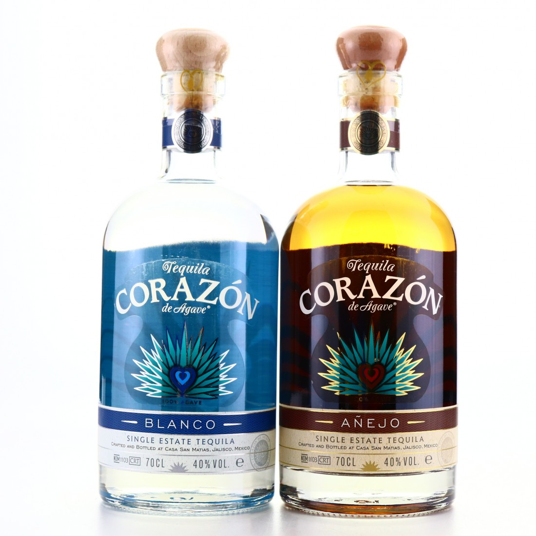 Corazon Tequila Selection 2 x 70cl