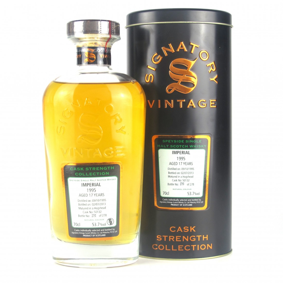 Imperial 1995 Signatory Vintage 17 Year Old