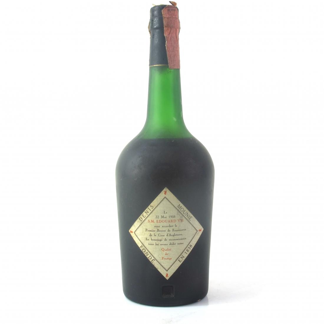 Denis-Mounie Grande Reserve Edovard VII Fine Champagne Cognac 1970s