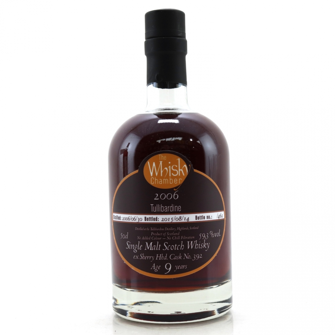 Tullibardine 2006 Whisky Chamber 9 Year Old 50cl
