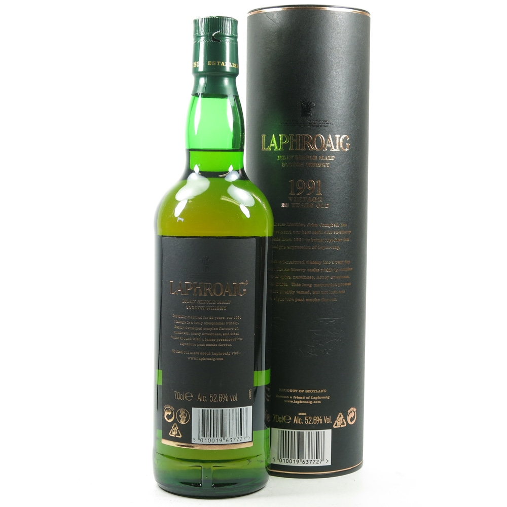 Laphroaig 1991 23 Year Old