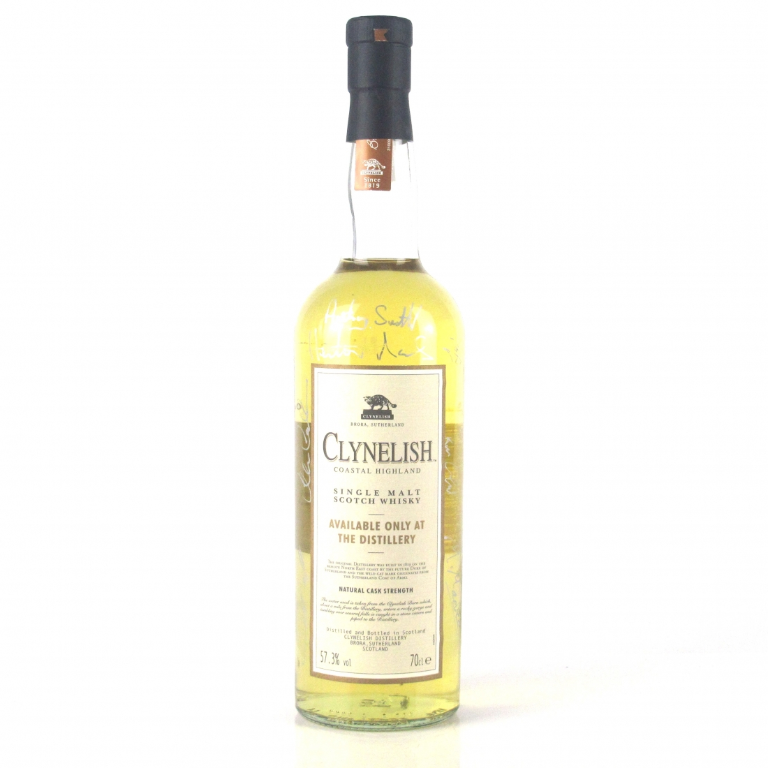 Clynelish Cask Strength Distillery Exclusive / Signed