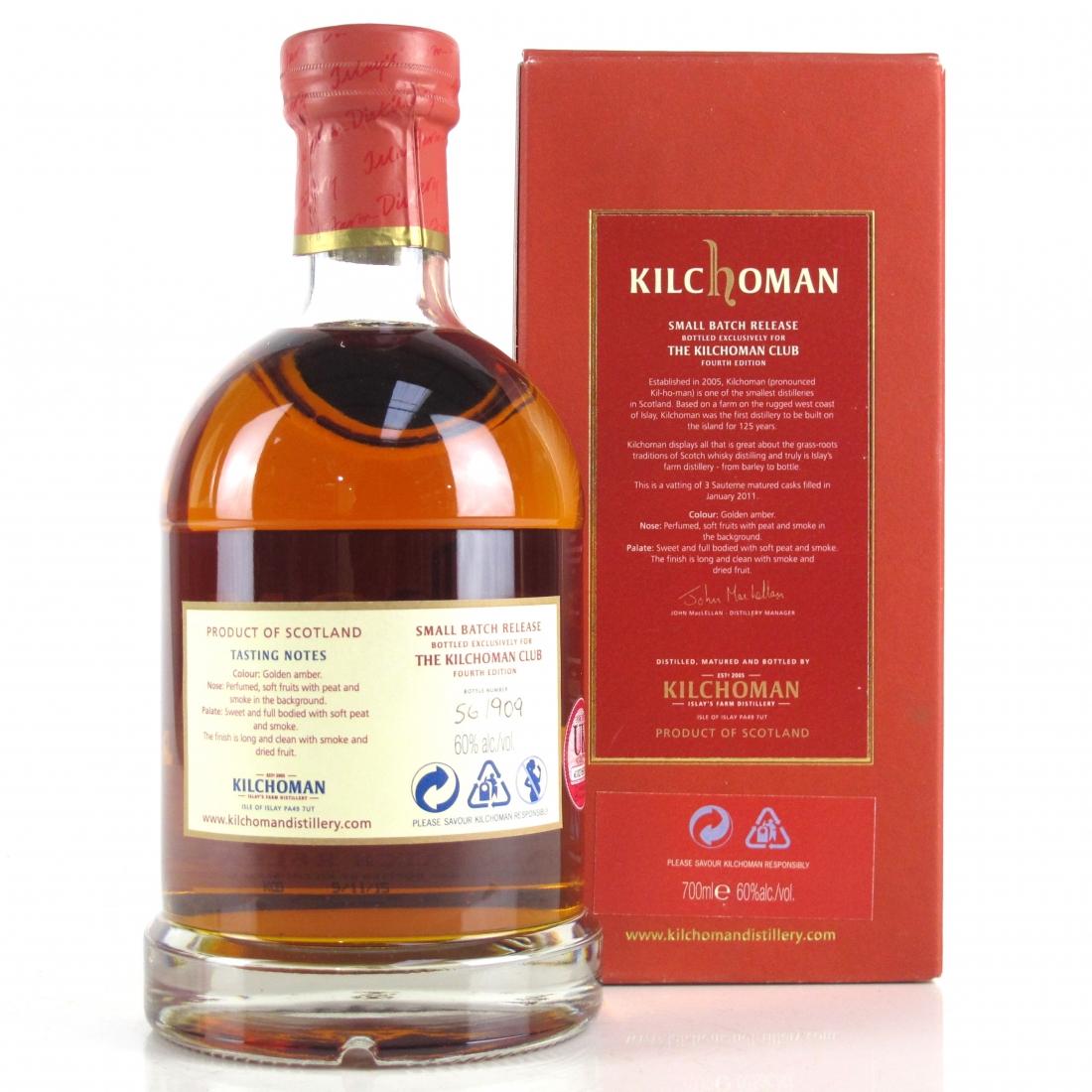 Kilchoman 2011 Small Batch / Kilchoman Club 4th Edition