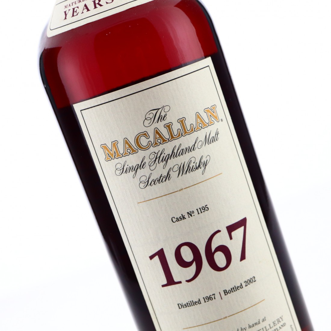 Macallan 1967 Fine and Rare 35 Year Old #1195
