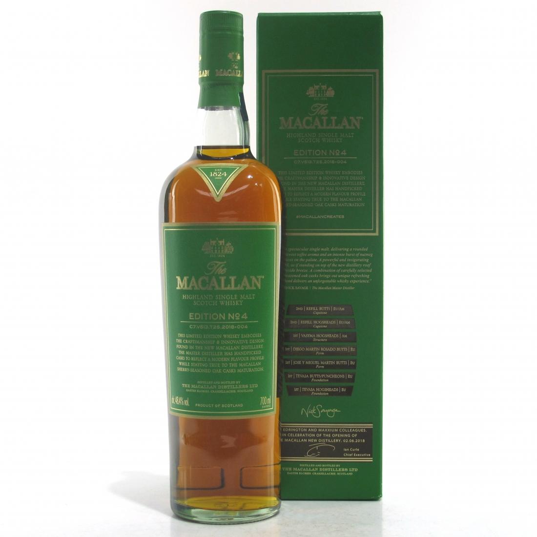 Macallan Edition No.4 / Edrington & Maxxium Staff