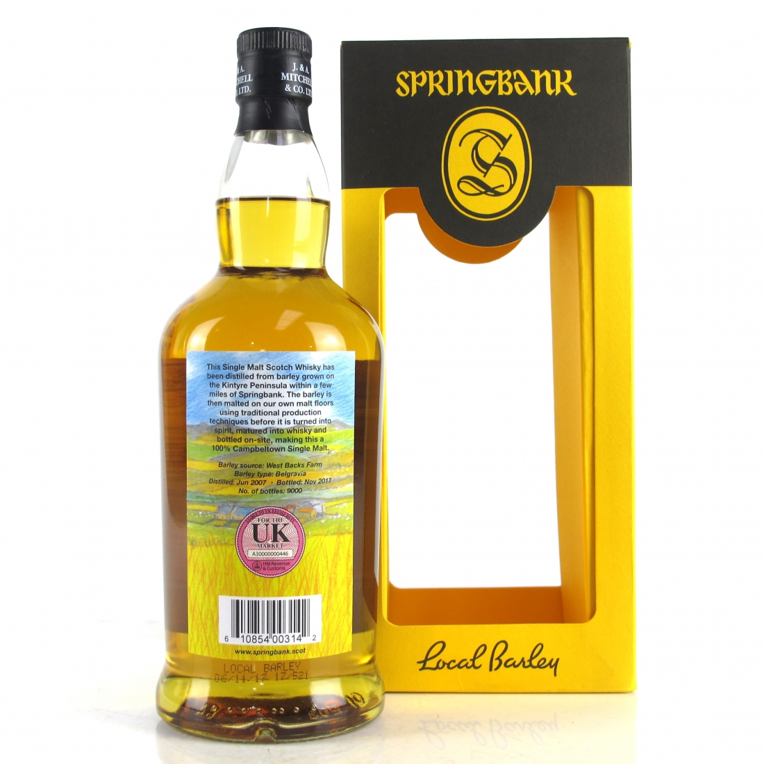Springbank 2007 Local Barley 10 Year Old