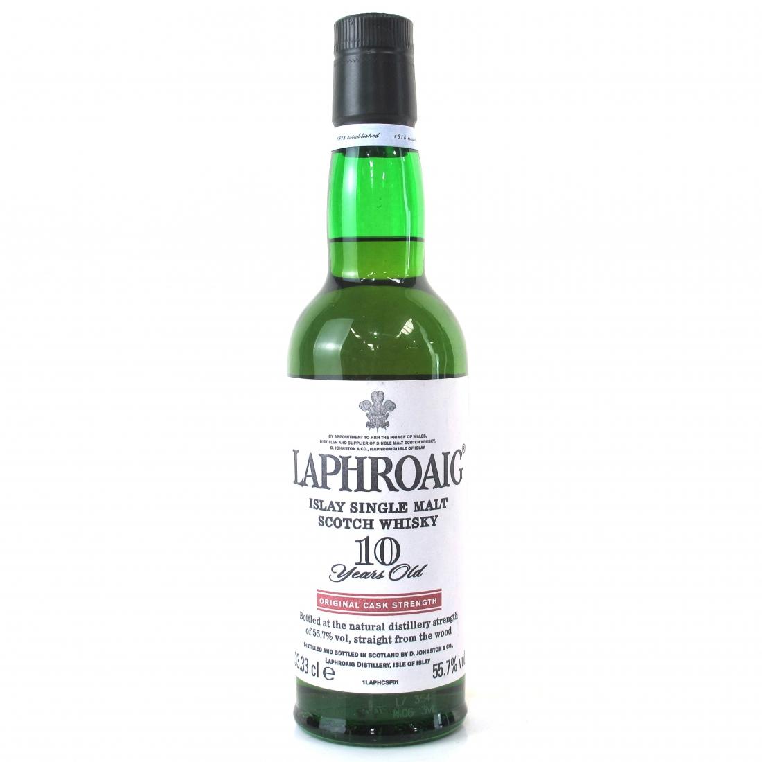 Laphroaig 10 Year Old Original Cask Strength 55.7% 33.3cl