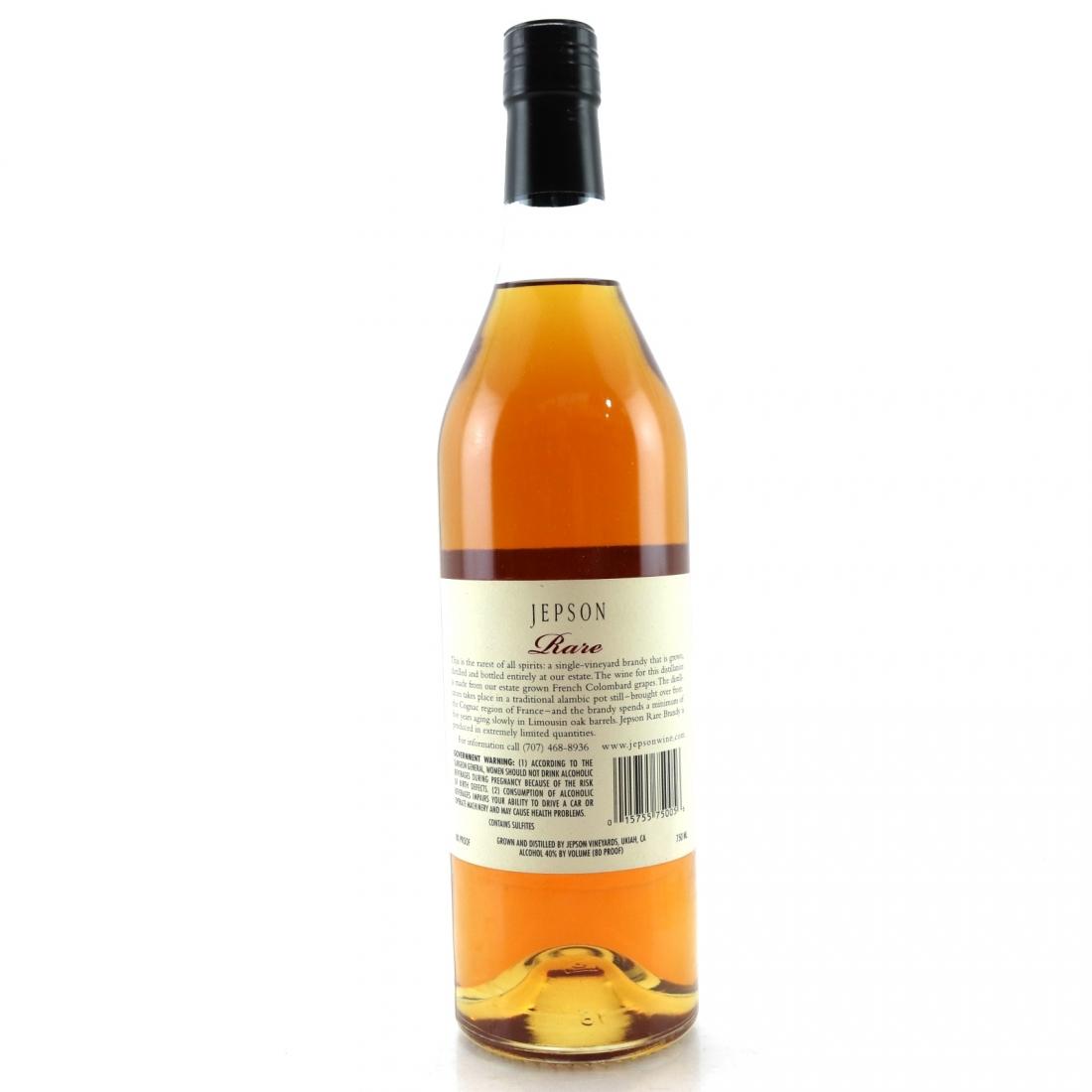 Jepson Rare Mendocino Alambic Brandy / 75cl US Import