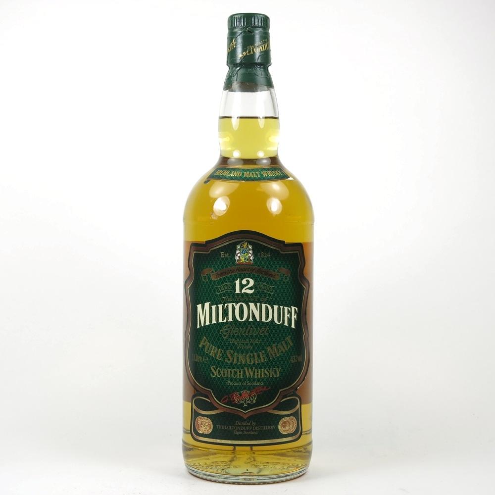 Miltonduff 12 Year Old 1 Litre