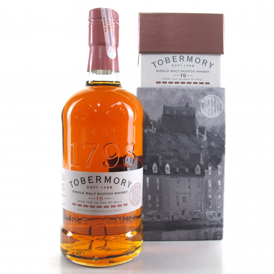 Tobermory 15 Year Old Marsala Finish