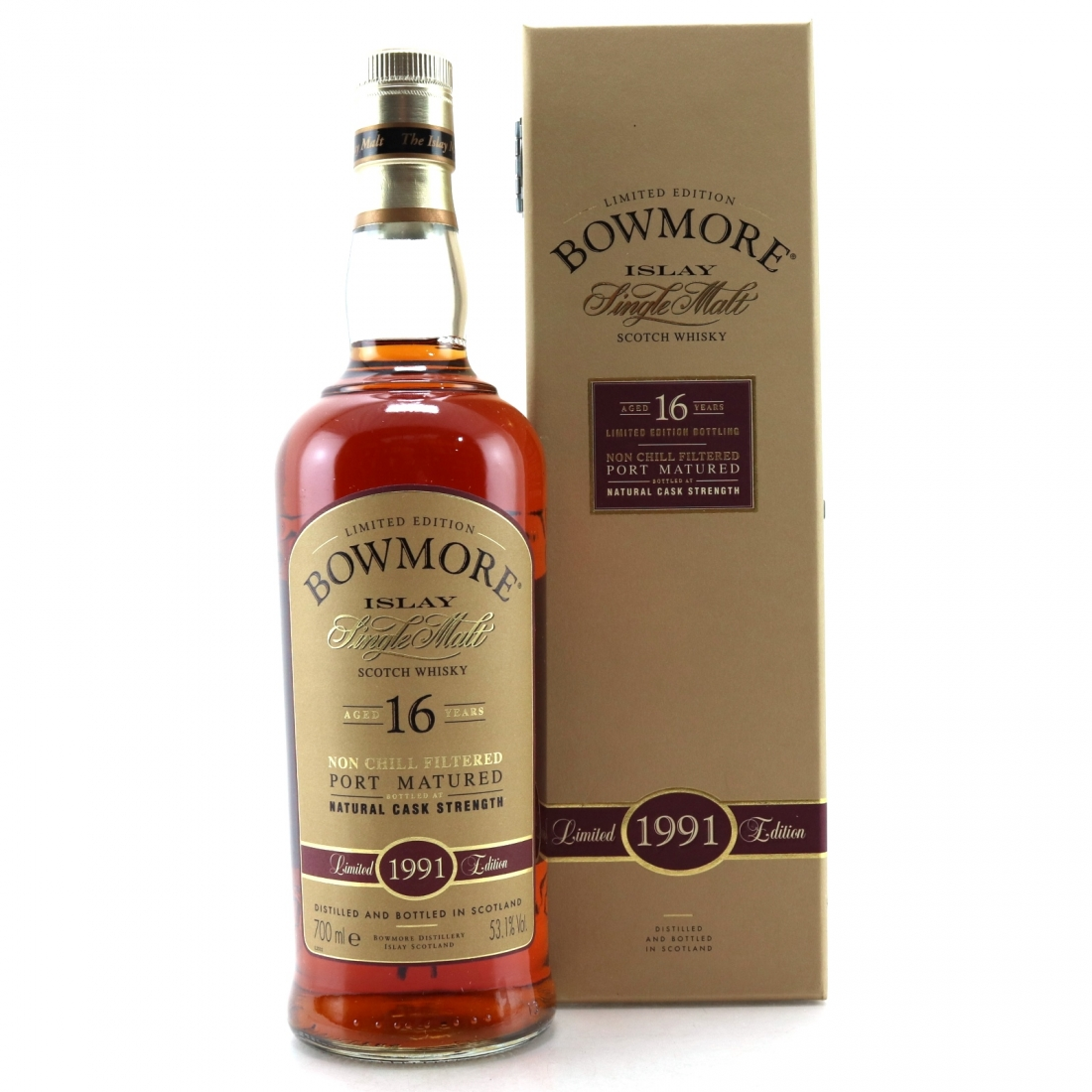 Bowmore 1991 Port Matured 16 Year Old