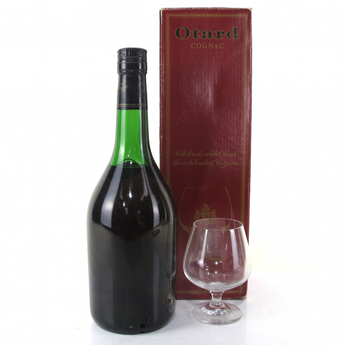 Baron Otard VSOP Champagne Cognac / with Glass