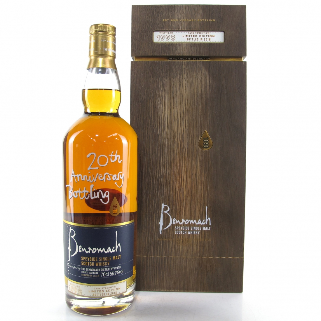 Benromach 1998 20th Anniversary