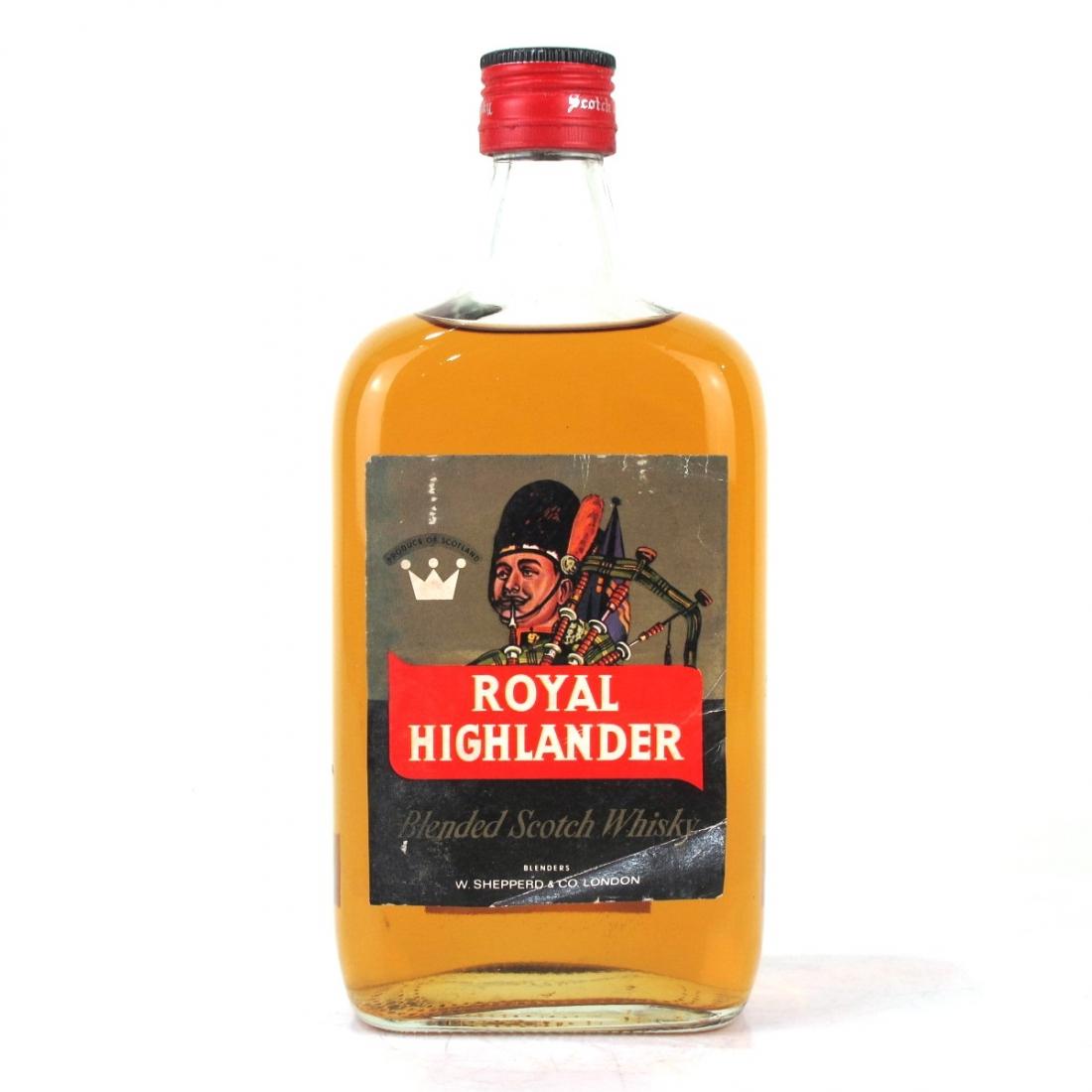Royal Highlander Scotch Whisky 1960s