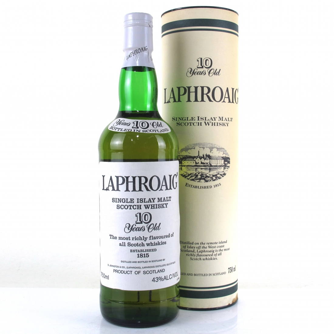 Laphroaig 10 Year Old Pre-Royal Warrant 75cl / US Import