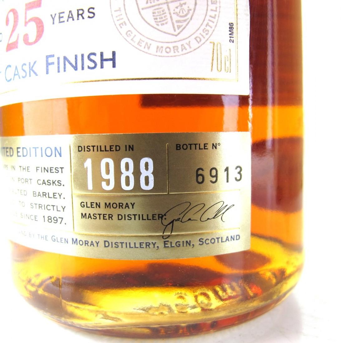 Glen Moray 1988 25 Year Old Port Cask Finish