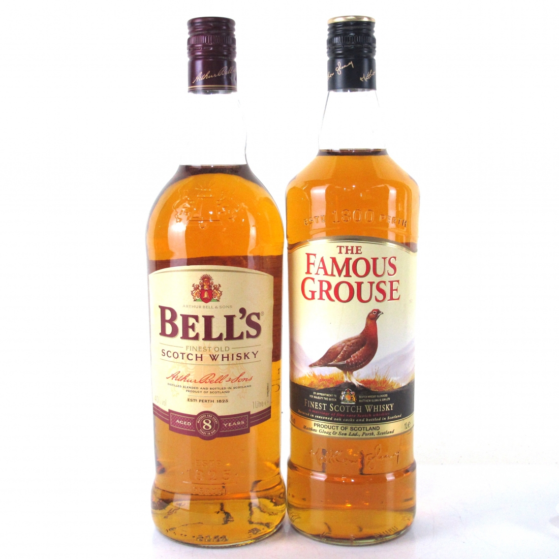 Bell's 8 Year Old & Famous Grouse 2 x 1 Litre