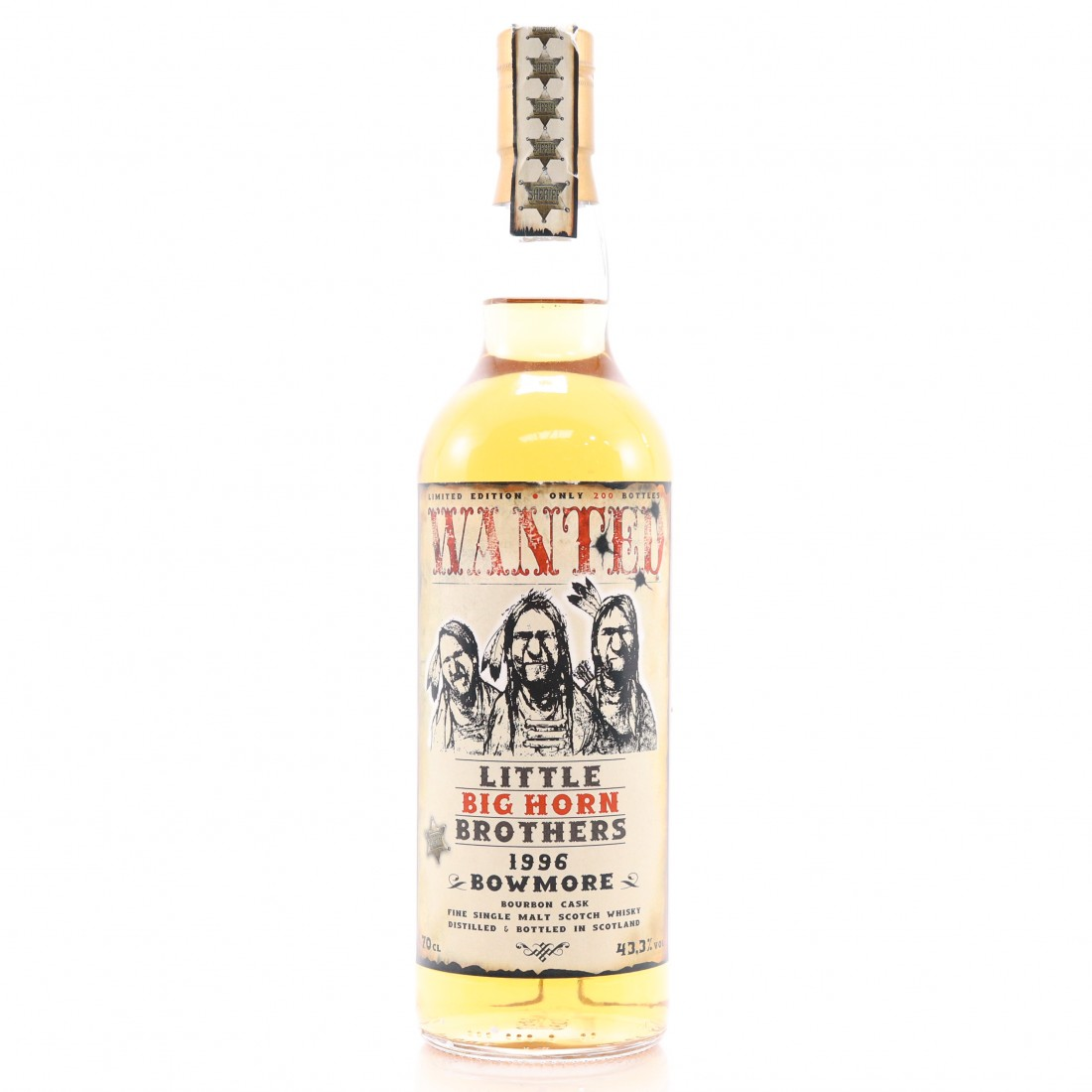 Bowmore 1996 Jack Wiebers / Wanted: Little Big Horn Brothers