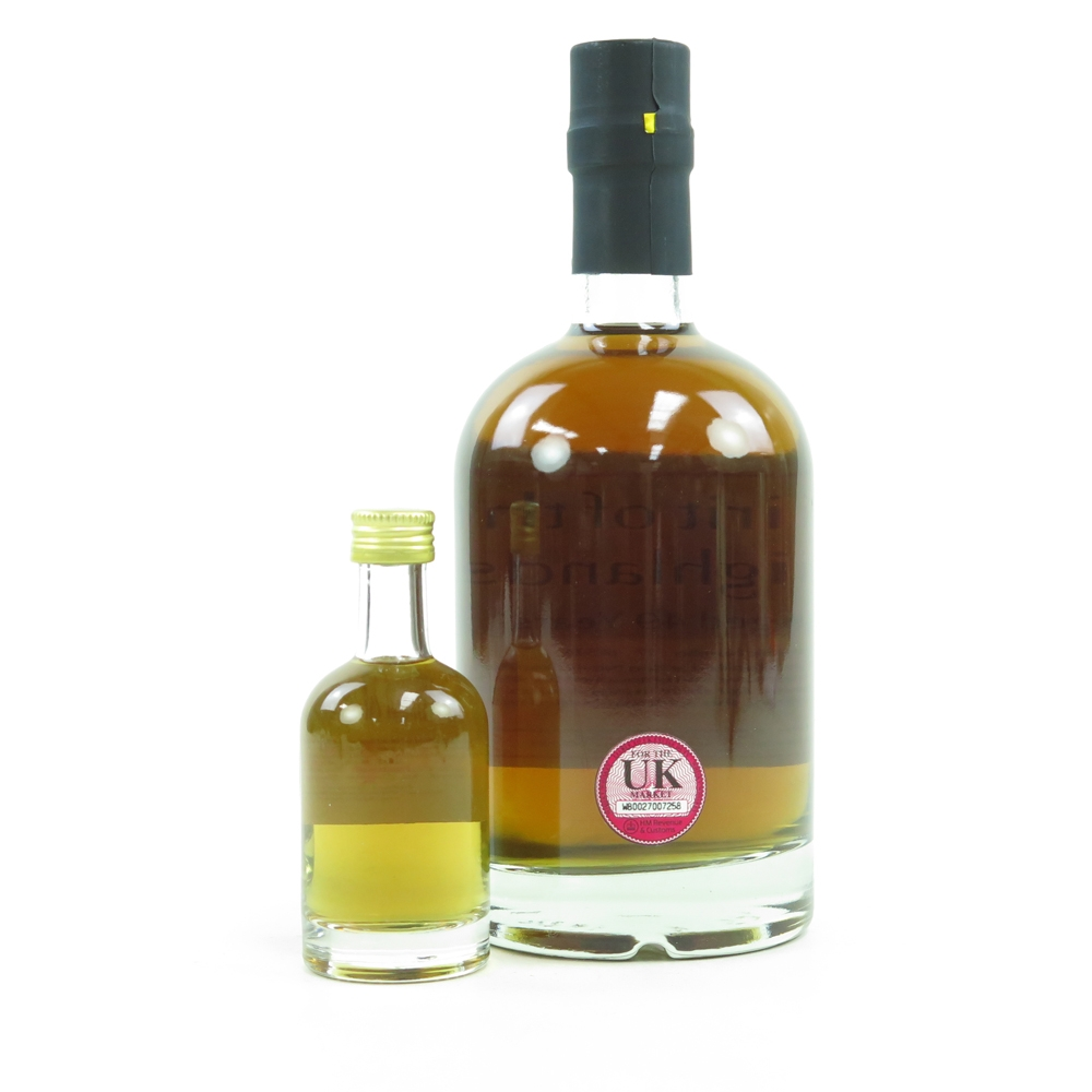 Ben Nevis 1966 Whisky Broker 49 Year Old 29.5% and Miniature