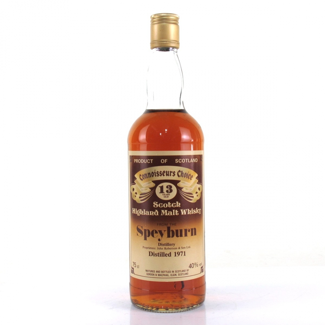 Speyburn 1971 Gordon and MacPhail 13 Year Old