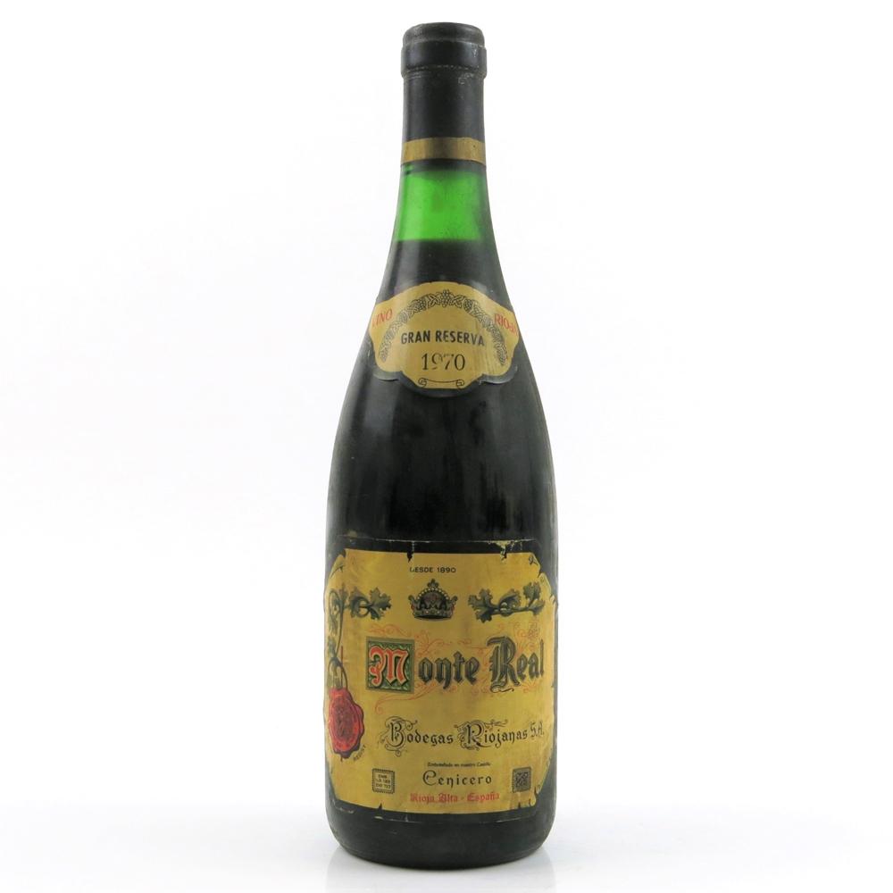 Monte Real 1970 Rioja Gran Reserva