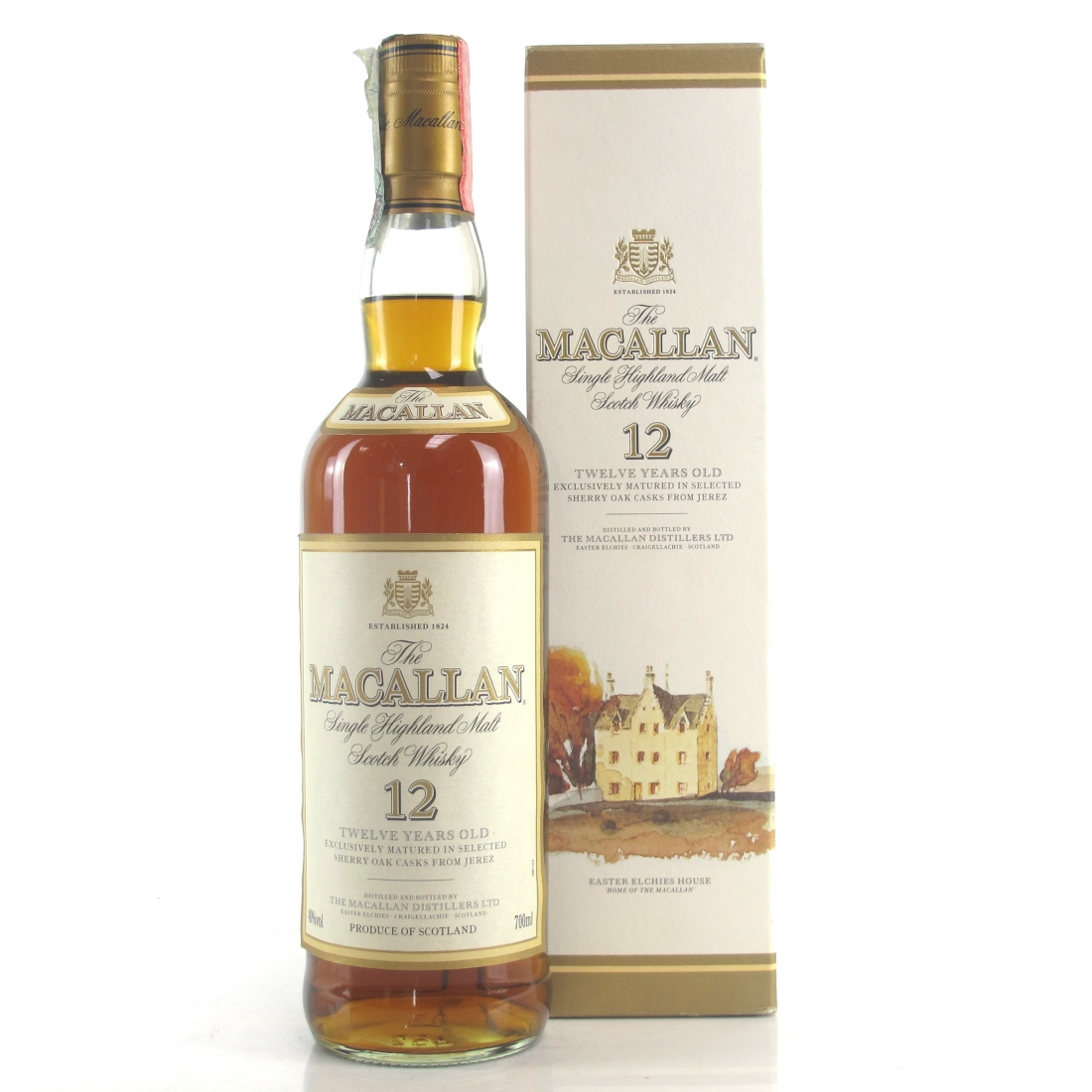Macallan 12 Year Old 1990s