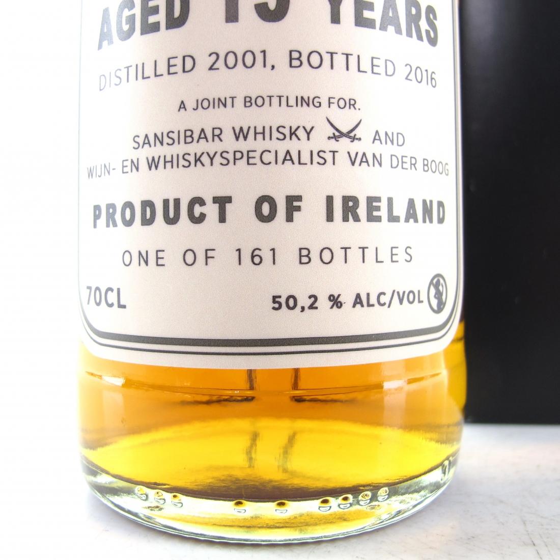 Irish Single Malt 2001 Sansibar 15 Year Old Sherry Cask / Van der Boog