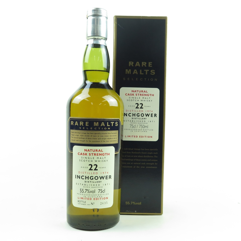 Inchgower 1974 Rare Malts 22 Year Old 75cl