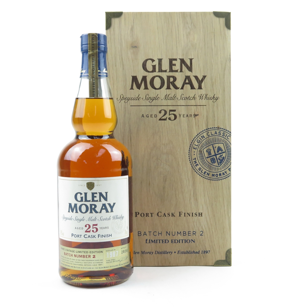 Glen Moray 1987 25 Year Old Port Cask Finish Batch #2